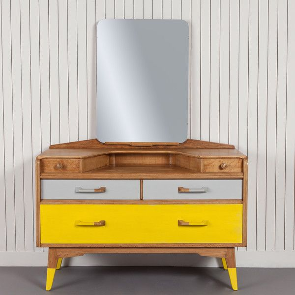 Eaton   £450.00   This Timeless Piece Of 1950s Design Has Been Partnered  With Yellow