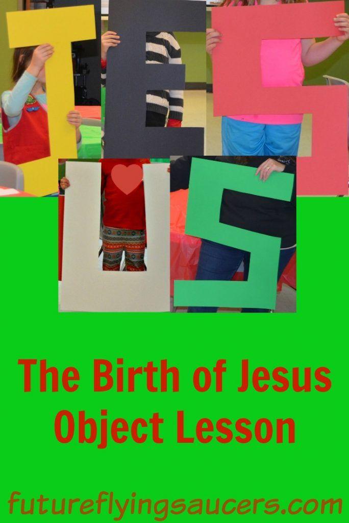 Birth of Jesus object lesson