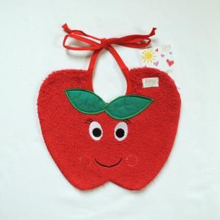 #baby, #bib, #apple, #italy, #souspeu