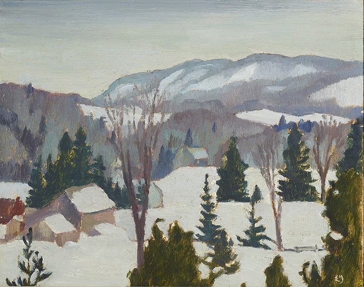 Winter - Morin Heights by Edwin Holgate