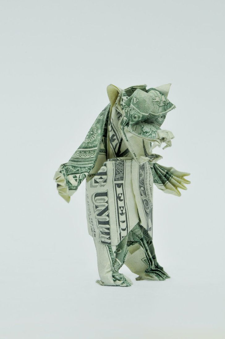 How to Make a Turtle out of a Dollar Bill (with Pictures) | 1096x728