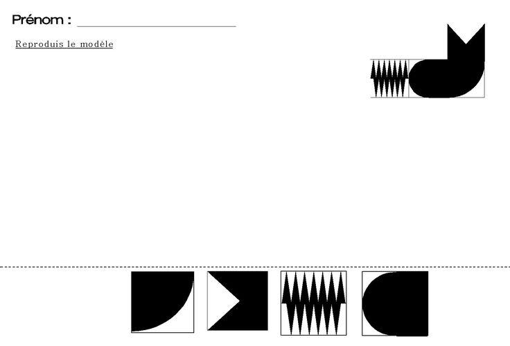tangram pour maternelle du chat