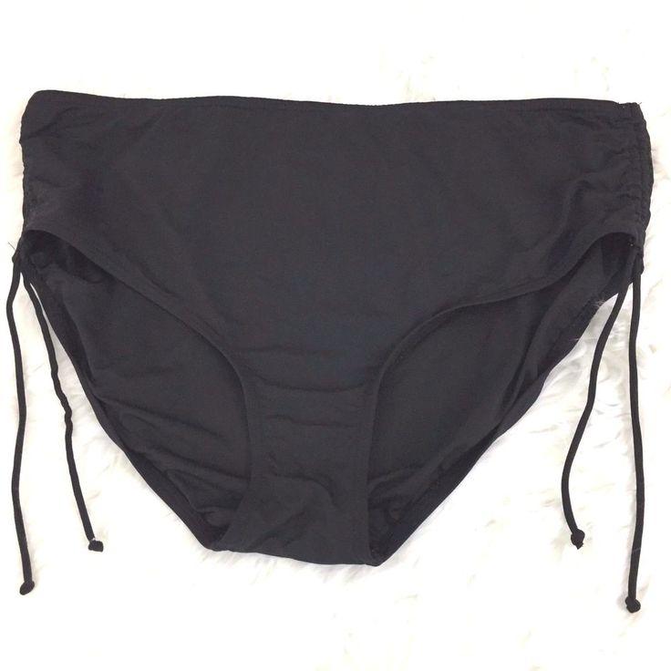 Coco Reef Bikini bottom only Black Size 3X Plus size  #CocoReef #BikiniBottom