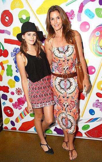 Cindy Crawford & Kaia Gerber Photo - Celebrities and Their Look-Alike Kids - Us Weekly