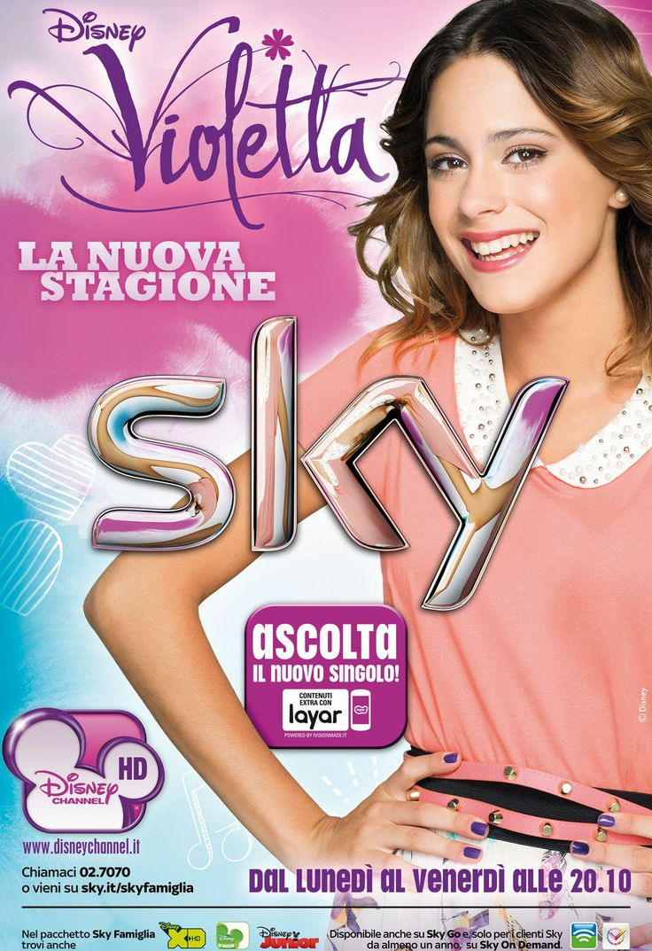 "Certified Layar partner @iVision Local Consulting Made from Italy adds augmented reality to promotional posters for the new season of ""Violetta"" airing on the Disney Channel - and wins a prestigious award! http://www.ivisionmade.it/awards.aspx"