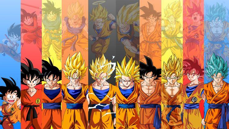 Goku Evolution Dragon Ball Wallpaper #1339 Wallpaper Themes ...