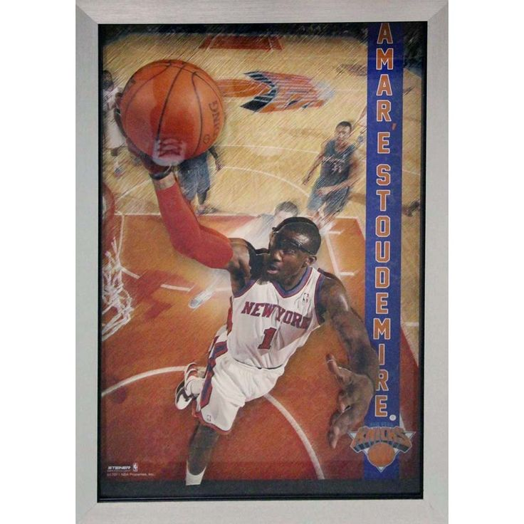 Amare Stoudemire Pop Out Framed 20x32 Collage