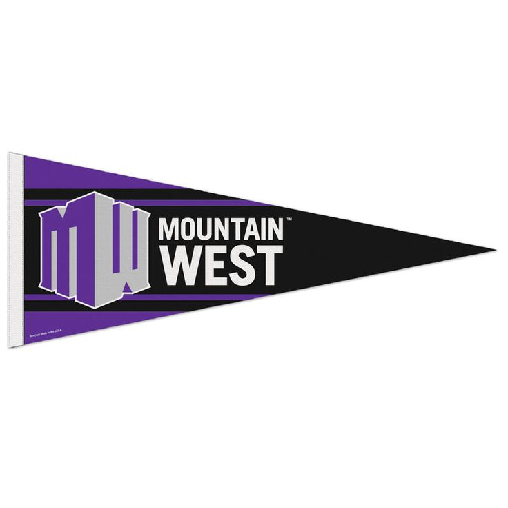 Mountain West Conference 12'' x 30'' Premium Pennant
