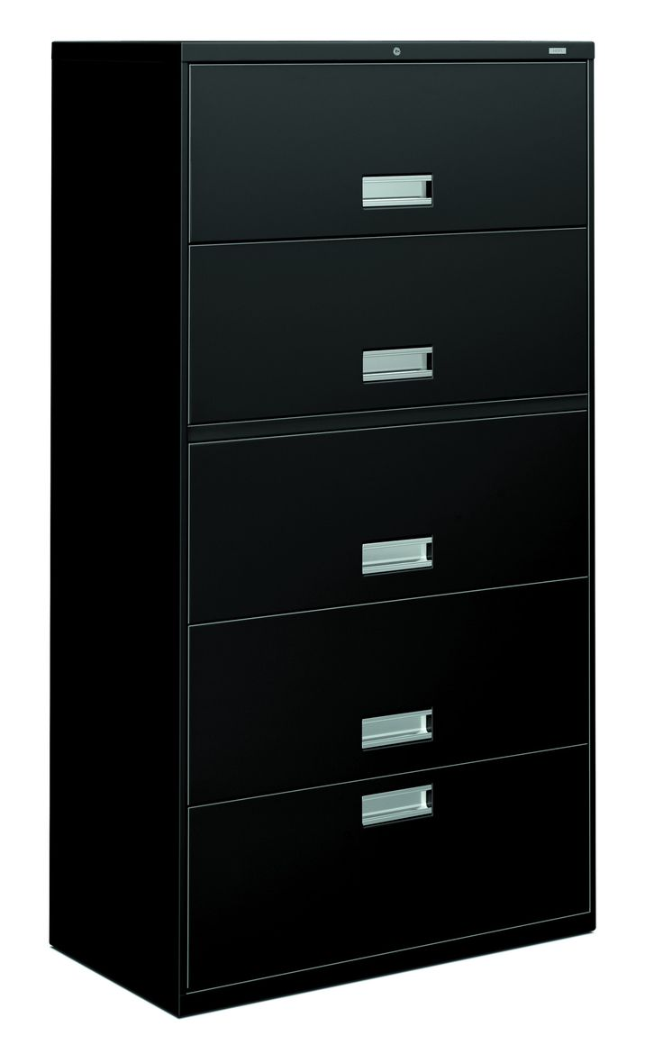 Hon Brigade 600 Series Lateral File 1 Drawer 4 Roll Out Shelves