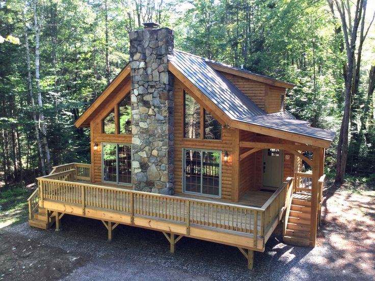 Luxury Log Cabin in Beautiful Weston, VT. Cabin in…