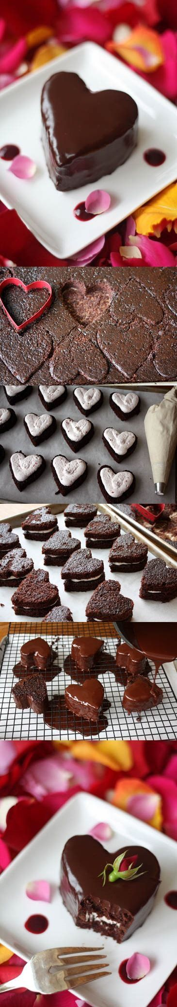 Chocolate Valentine's Day Cake If you want a delicious Valentine's Day you have to try this recipe. It has all the ingredients: chocolate, heart, love! Chocolate most handy aphrodisiac. Having an important content of cocoa, chocolate contains an alkaloid – theobromine – which when  is consumed in large quantities has a powerful aphrodisiac effects. In conclusion you need a cake with chocolate in menu for this special day!