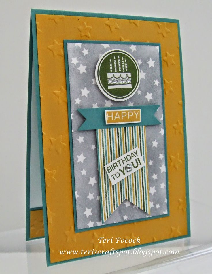 Stampin' Up! UK Demonstrator - Teri Pocock: Amazing Birthday With Irresistibly Yours