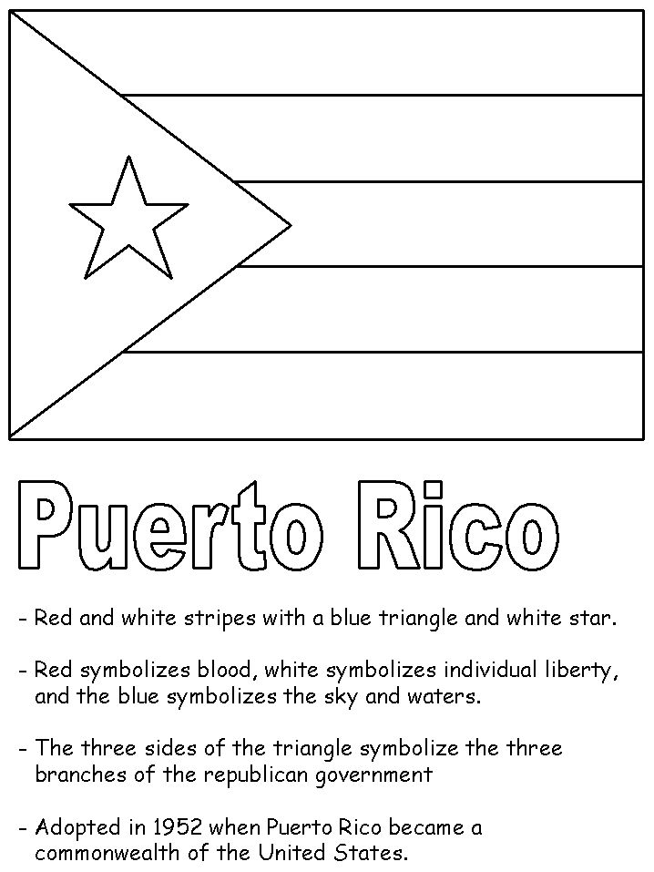 34 best images about puerto rico on pinterest green for National hispanic heritage month coloring pages
