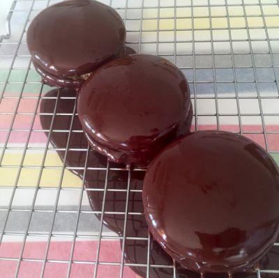 Alfajores de chocolate estilo Havanna