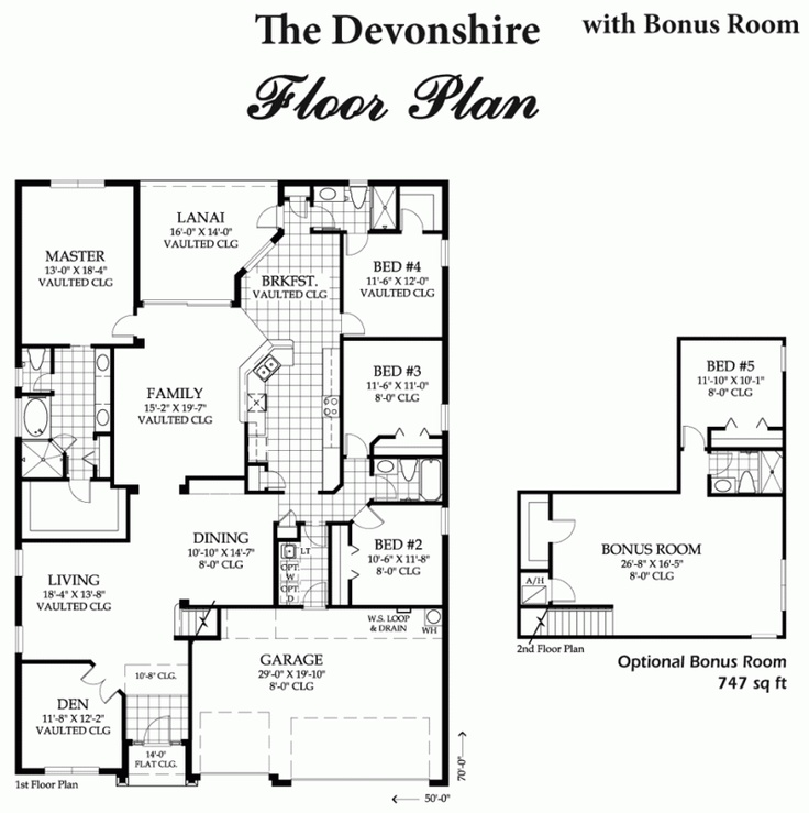 Inland homes devonshire floor plan home design and style for Devonshire floor plan