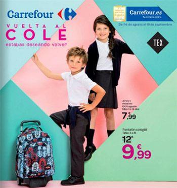 """Vuelta al Cole en Carrefour del 16 de agosto al 19 de septiembre -  Amplio catálogo de Carrefour """"Vuelta al Cole"""" disponible del 16 de Agosto al 19 de septiembre. Carrefour quieres que seas previsor en la vuelta al cole de tus hijos, y puedes ahorrarte dinero al comprar ahora mochilas, bolígrafos, zapatos, uniformes… Descubre todo el catálogo y... #CatálogosCarrefour, #Catálogosonline  #TEX Ver en la web : https://ofertassupermercados.es/vuelta-al-c"""
