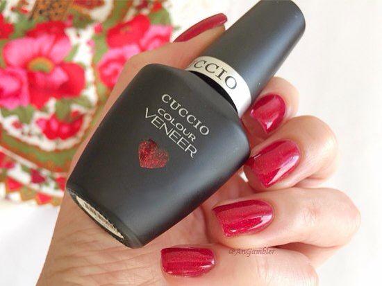 ❤ Идеальный гель-лак для идеального Нового Года.  Сегодня beauty-blogger Анна Гемблэр хочет показать вам яркий, праздничный, темпераментный, интригующий и воистину новогодний гель-лак для ногтей - Chakra от Cuccio Veneer.