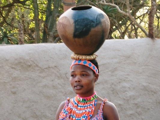 Young Zulu woman