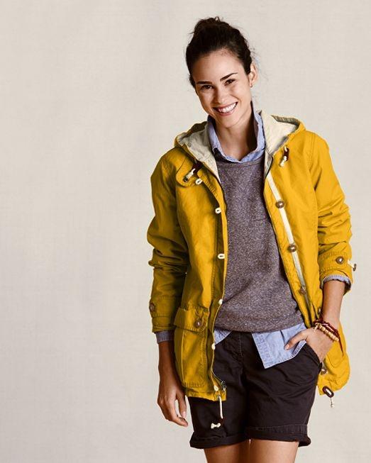 I need a new rain jacket...