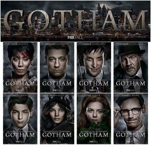 GOTHAM. THE GOOD. THE EVIL. THE BEGINNING.