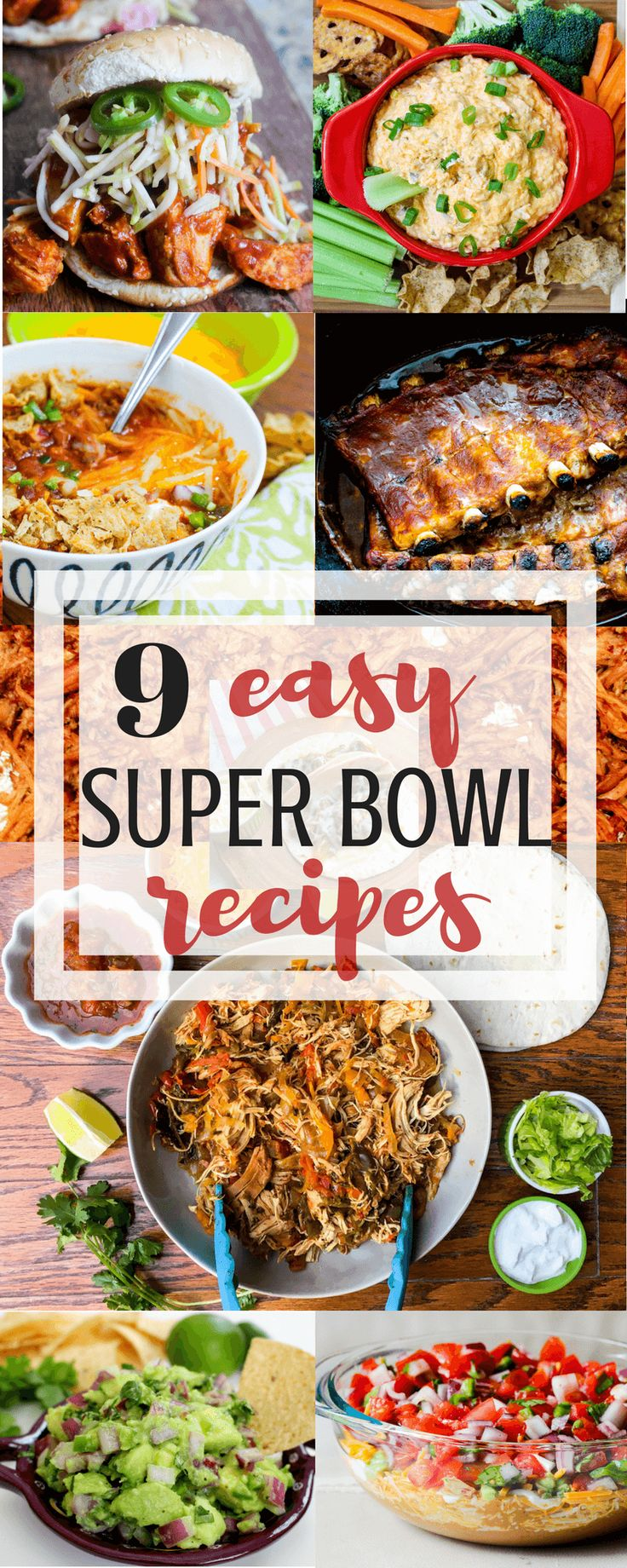 9 Easy Super Bowl Recipes Everyone Will Love! via @allyscooking