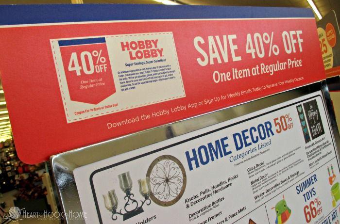 24 Hobby Lobby Savings Hacks You Need In Your Life Hobby Lobby Coupon Hobby Lobby Hobby Lobby App