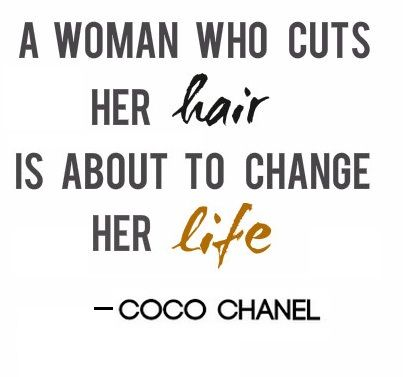 Yes! I have many gf's who've done it after ending a relationship and never thought I'd do the same. I loved my long hair. BUT I am one of those women!! Lol... It truly was a transformation inside and out! I'm even going shorter... I love the woman I found beneath those layers. ☺
