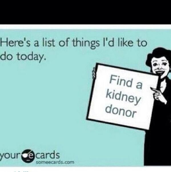 We know A LOT of people who feel this way! #EraseTheWait #DonateLife