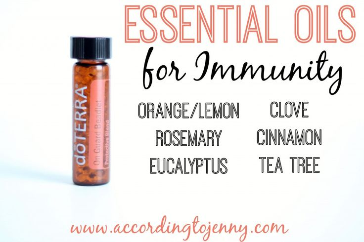 Essential Oils For Immunity Doterra On Guard Beadlets