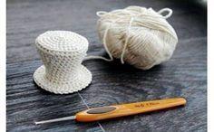 Схема вязания крючком шляпы-цилиндра для куклы от Жидовидовой Светланы