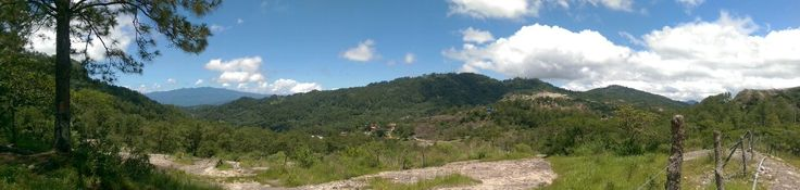 Mountain Range going to El Perol Waterfall #Perquin #Morazan #ElSalvador / suchitoto.tours@gmail.com