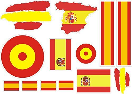 lote Pegatina vinilo para coche, pared, puerta, nevera, carpeta, etc. Bandera espana #lote #Pegatina #vinilo #para #coche, #pared, #puerta, #nevera, #carpeta, #etc. #Bandera #espana
