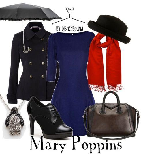 Mary Poppins by Disney Bound