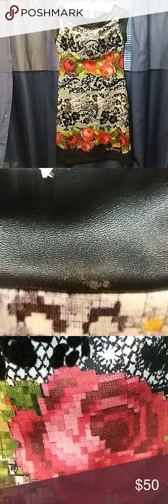 I just added this listing on Poshmark: Desigual floral velvet knit dress. #shopmycloset #poshmark #fashion #shopping #style #forsale #Desigual #Dresses & Skirts