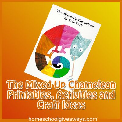The Mixed-Up Chameleon Printables, Activities and Craft Ideas