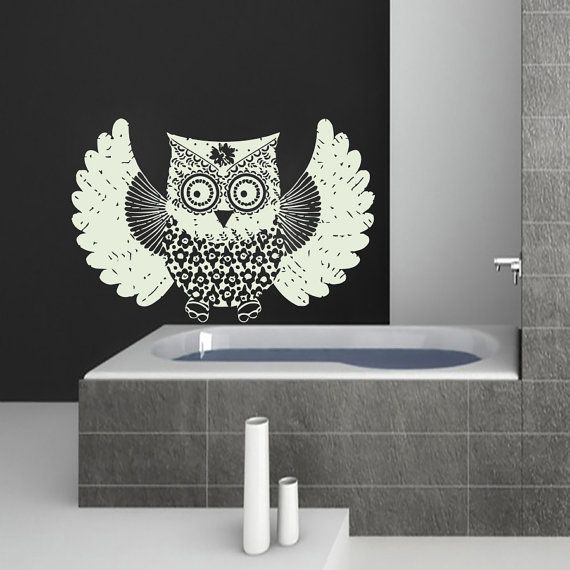 Hey, I found this really awesome Etsy listing at https://www.etsy.com/listing/233529271/wall-decals-owl-bird-decal-vinyl-sticker