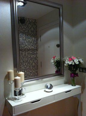 M s de 25 ideas incre bles sobre recibidores peque os en for Entradas de casa ikea