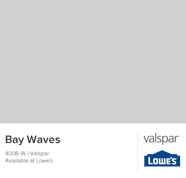 Bay Waves from Valspar