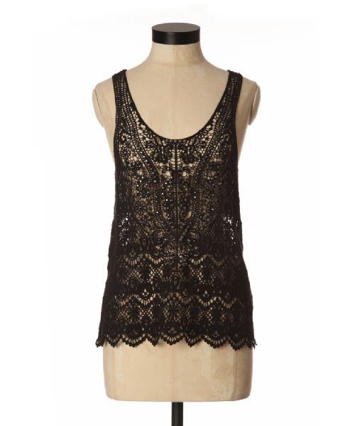bootlegger.com : kismet teze black crochet top