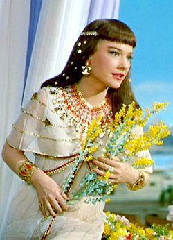 "Anne Baxter - ""The Ten Commandments"" (1956) - Costume designer : Edith Head"