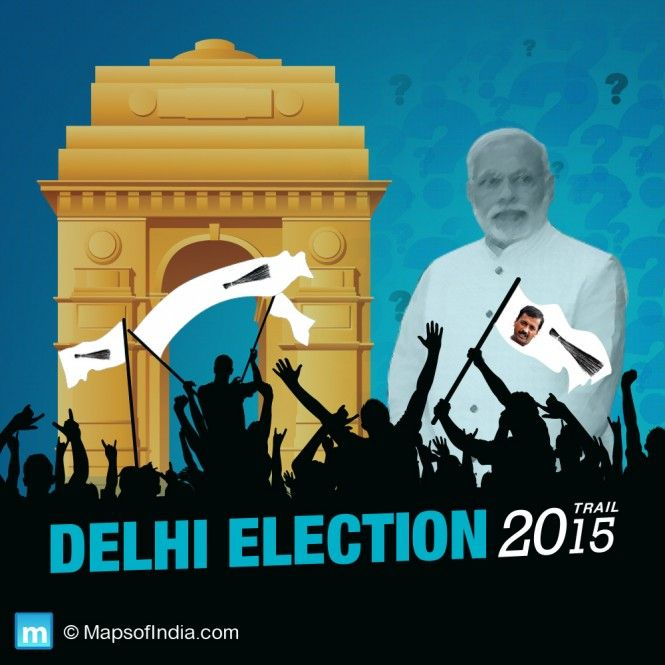 Is Modi magic fading in the run up to Delhi Elections 2015?