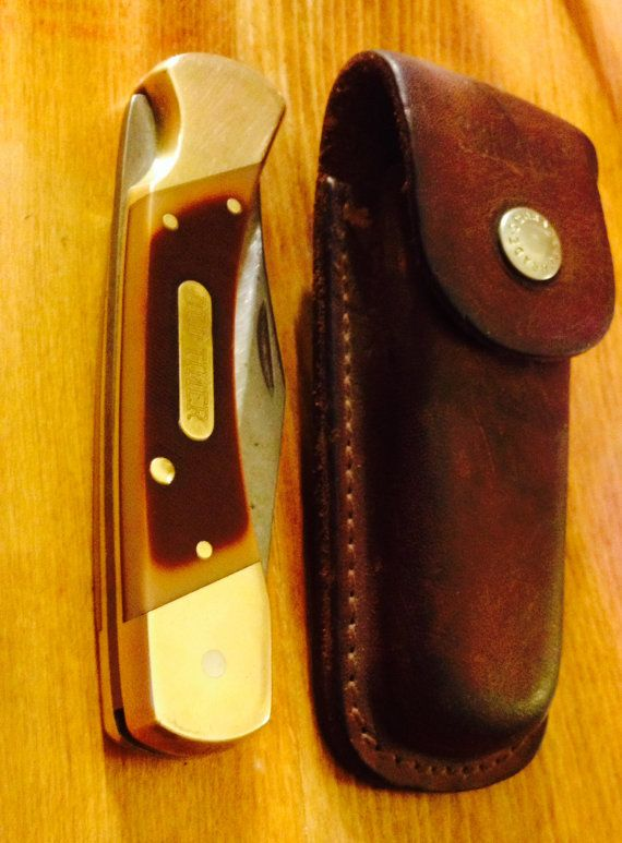 Vintage Schrader Old Timer Pocket Knife 7OT My grandfather gave all the grandsons an Old Timer on our 10th birthday