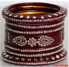 RED LAC BANGLE