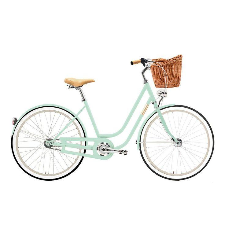 Bicicleta urbana Creme Holymoly pistacho mujer   deporvillage