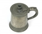 Dr. Mudge's Pewter Inhaler 1778 - used to inhale vapours in treatment of 'catarrhous cough', using opium and aromatic leaves infused in hot water.  Search Results - Phisick | Medical Antiques