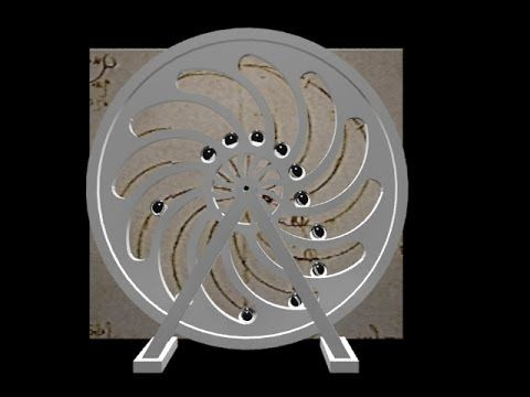 Perpetual Motion - Leonardo da Vinci's Machines Part 1 - YouTube More