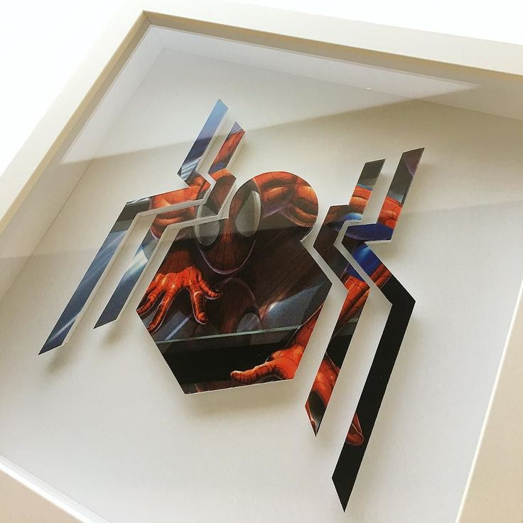 "SPIDER-MAN logo all framed up! 10x10"" white shadowbox frame. DM if interested! Shop link in bio . . . . #spidey #peterparker #spidermanhomecoming #marvel #marvelcomics #handcuthero #superheroletters #superherologo #handmadehero #steadyhands #papercutting #papercraft #paperart #gilbertmakers #shoplocalaz #nerdart #geekart #applewatch #puravidabracelets #makersgonnamake #lettercraft #localaz #xacto #etsy"