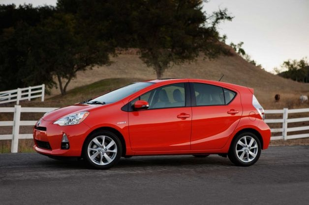 """Toyota Prius C: Consumers are eager to get cars with the best fuel economy for the cheapest price. This Toyota fits those criteria perfectly. What KBB said: """"Definitely more geek chic than traditional cool, the Prius C makes this list by combining exceptional fuel economy of 53 mpg with a starting sticker price of less than $25,000."""" Base Price: $23,990 Photo: Handout, Toyota Motor Company / MCT"""