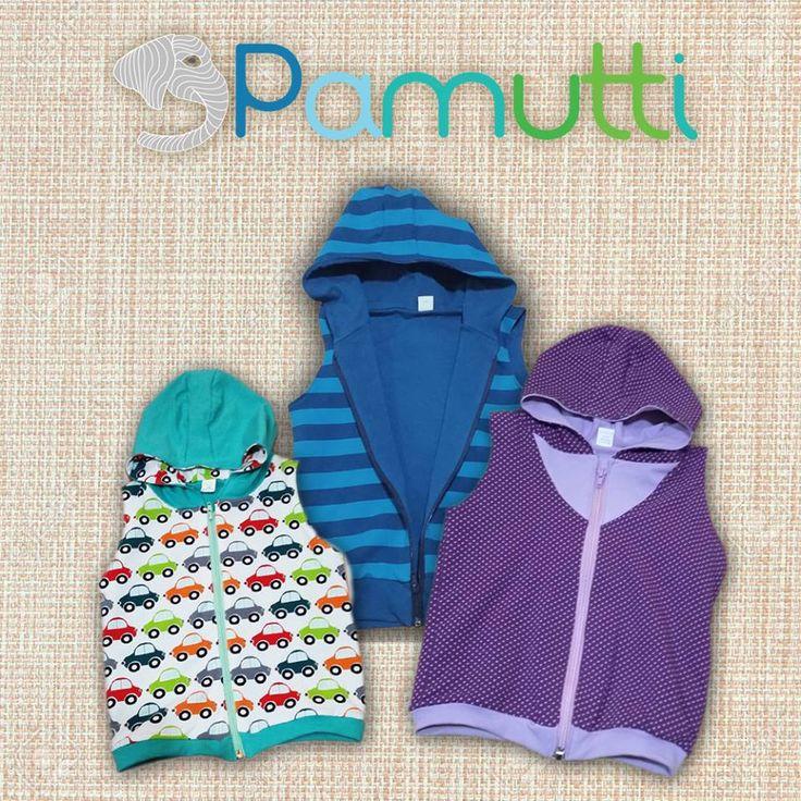 Mellények fiúknak és lányoknak :) Egyedi rendelés: www.pamutti.hu