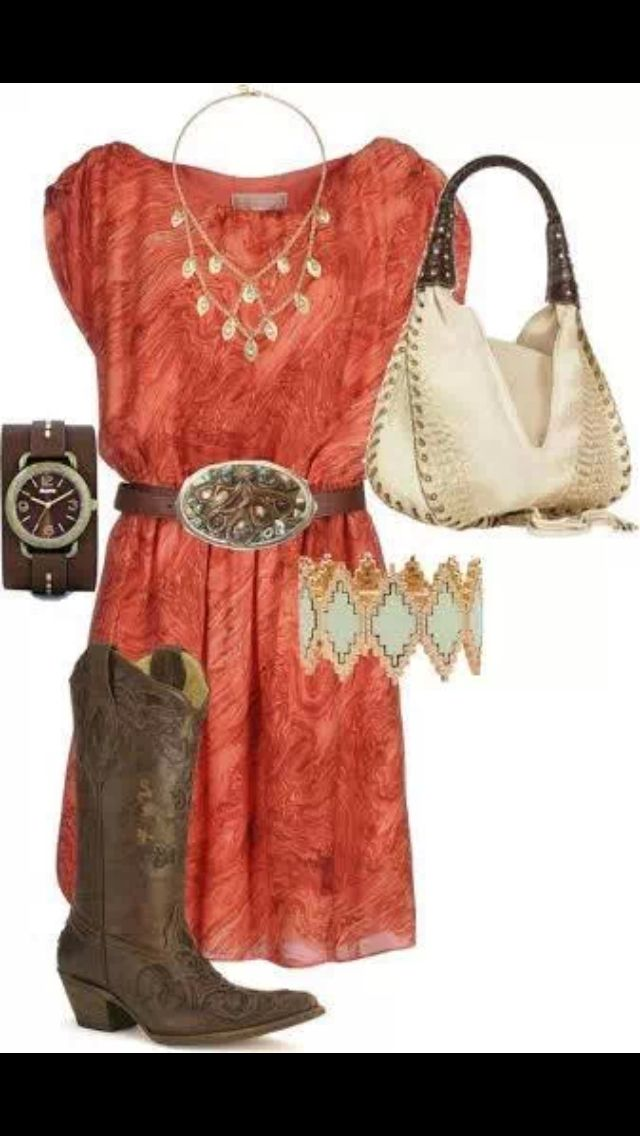 Cute country girl outfit :)